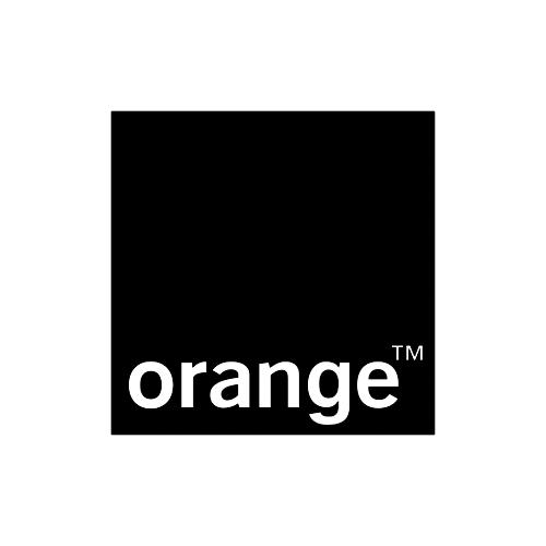 Orange logo Pretzel Films